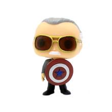 Funko POP Marvel Avengers Stan Lee & Infinity Gauntlet Q UAKE Thor Stormbreaker, фигурки, игрушки для детей, рождественский подарок(Китай)