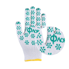 industrial working gloves garden cotton knit hand gloves for labor workers