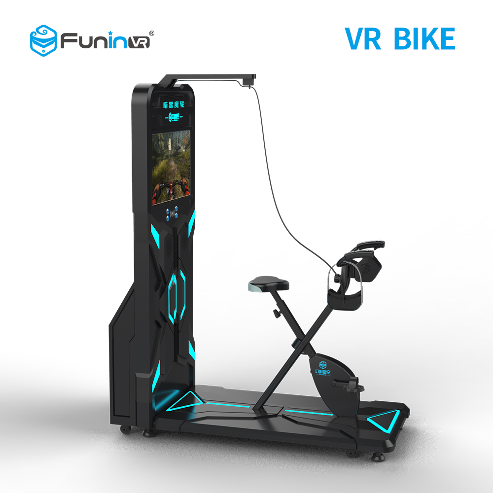 2019 zhuoyuan Vr Center 9D VR Bike Schieten Game Bike Simulator 360 Graden voor verkoop