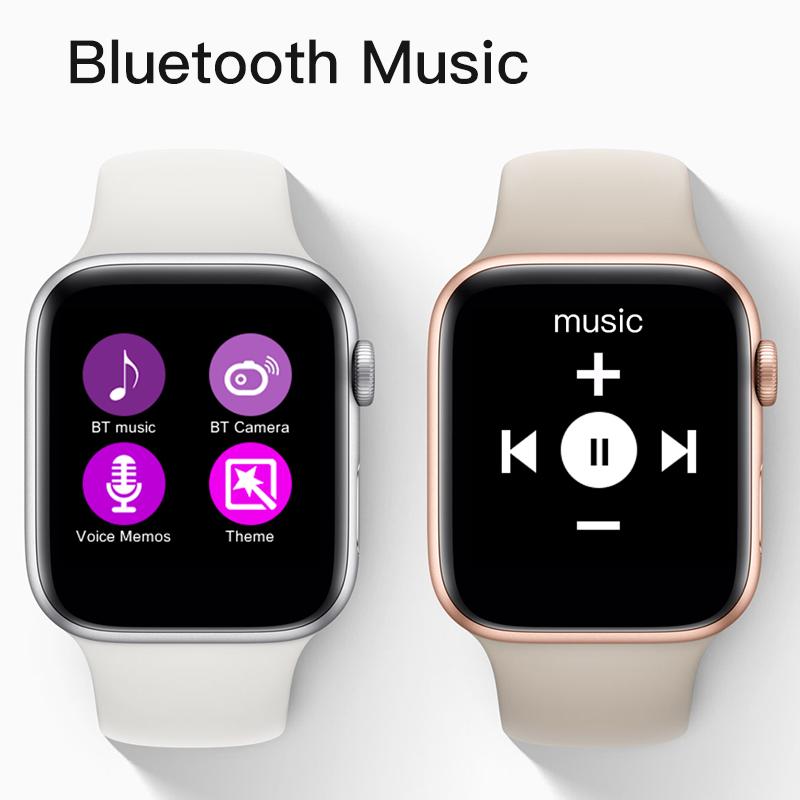 W54 Smartwatch 44mm Fall BT Anruf Erinnerung w53 iwo9 10 serie 4 Für IOS & Android-Handy Unterstützung SMS notifer IWO 8 smart uhr
