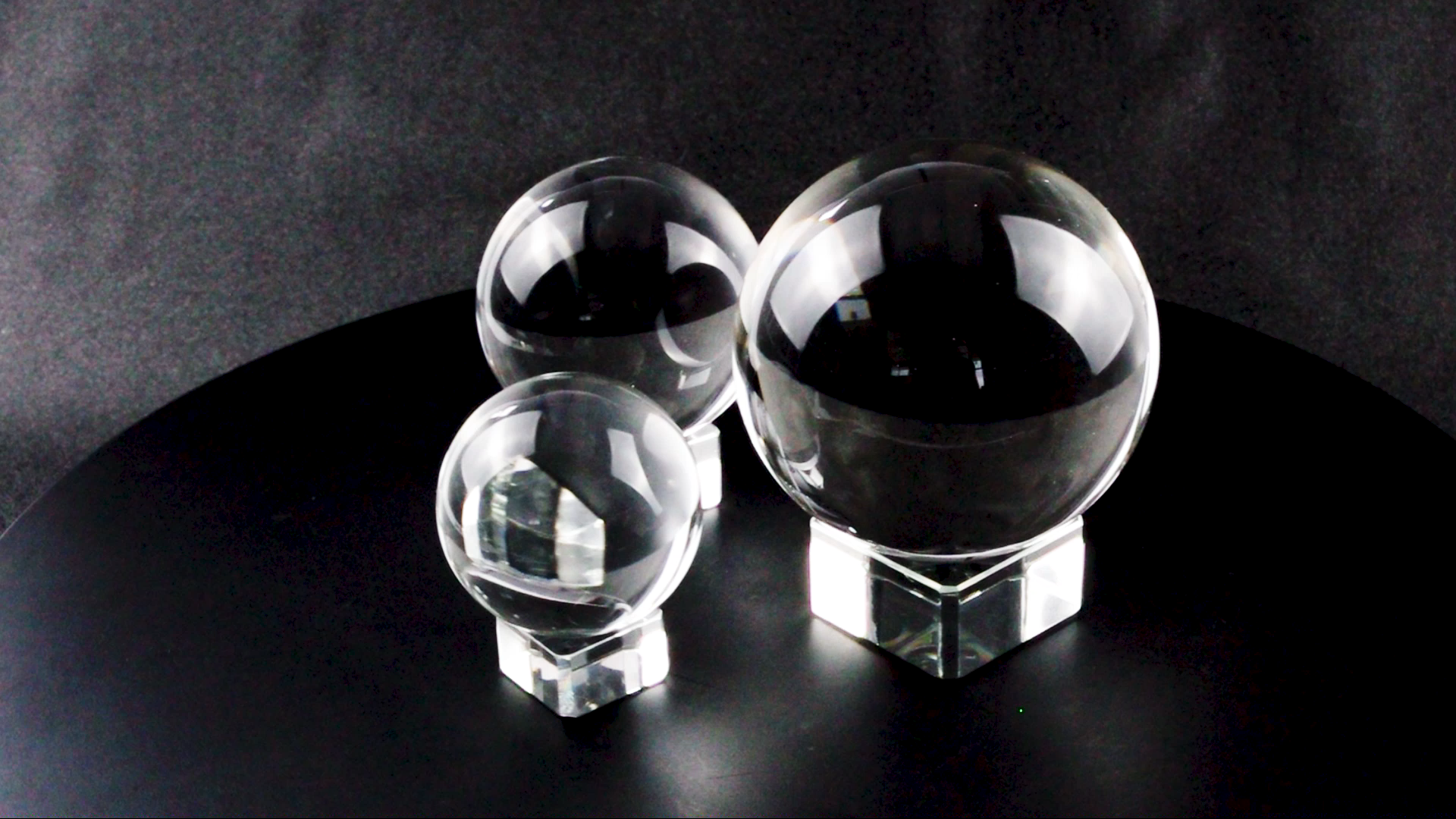 Wholesale 60MM 80MM100MM Magic K9 Transparent Crystal Glass Ball for Home Decorations