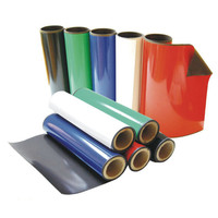 Manufacturer supply good price different color strong soft magnet rubber sheet