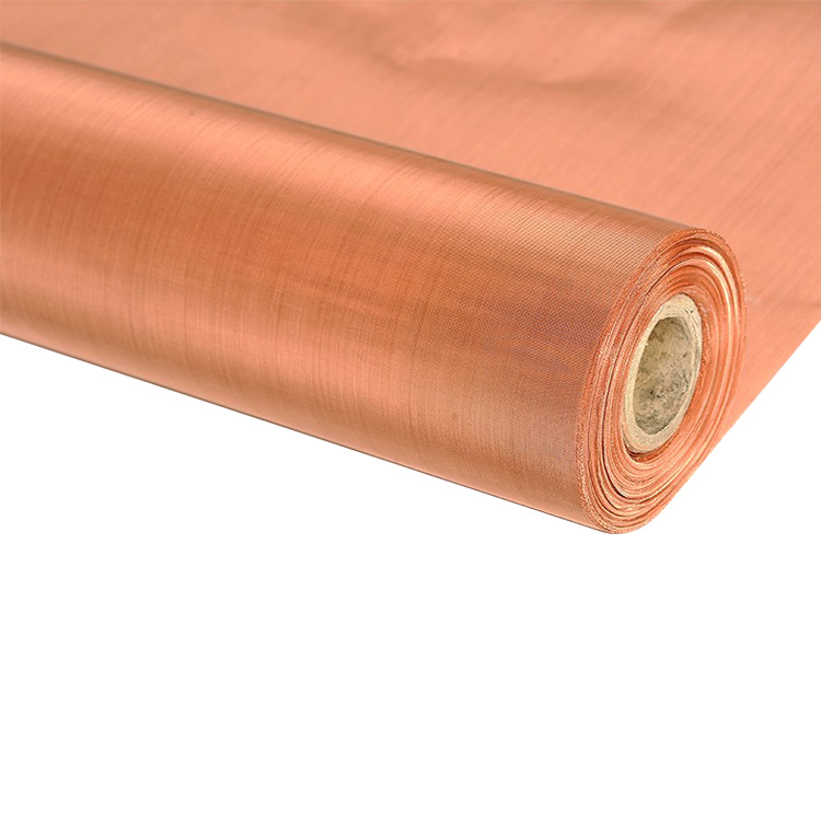 nonmagnetic 20 30 mesh red copper wire mesh