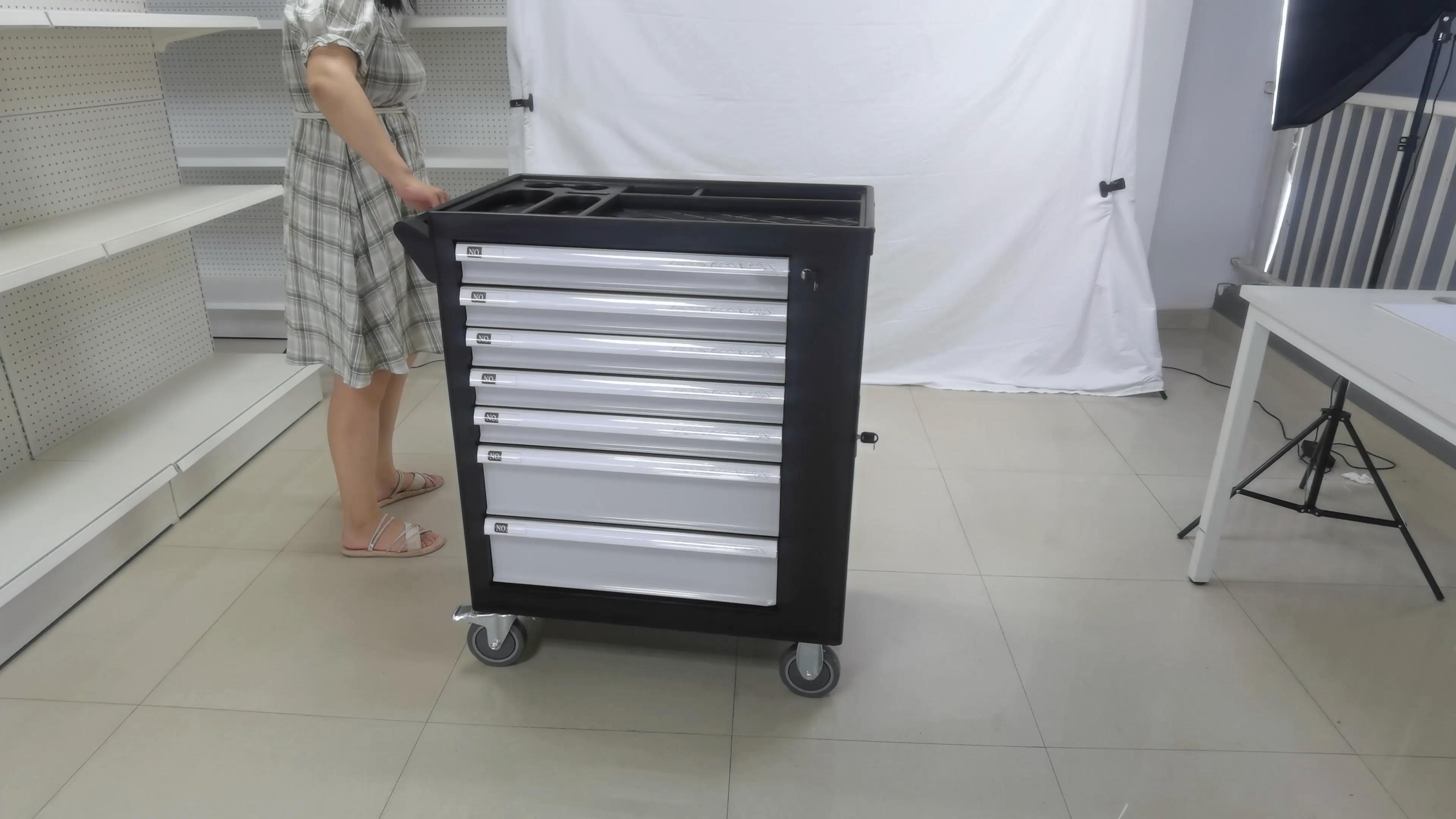 240Pcs caliente multipropósito reparación de automóviles de gabinete con herramientas