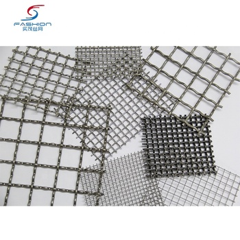 Crimped Type Woven Wire Fabric Decorative Metal Facade Mesh For Curtain Wall Architectural woven mesh architectural wire mesh