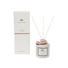 Luxury pure white painted glass empty bottle fragrance diffuser reed diffuser aroma
