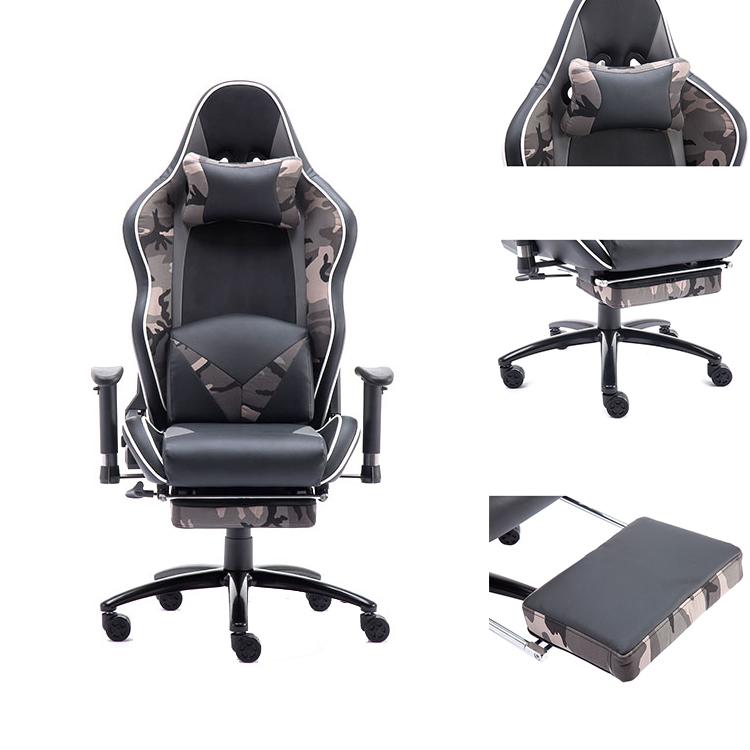 Haute Qualité Pivotant Chaise De Bureau De Course Haut-Parleur Chaise De Jeu