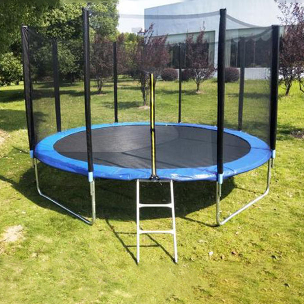 With Enclosure Professional 6 Feet Adults Inground Outdoor Elastic Trampoline//