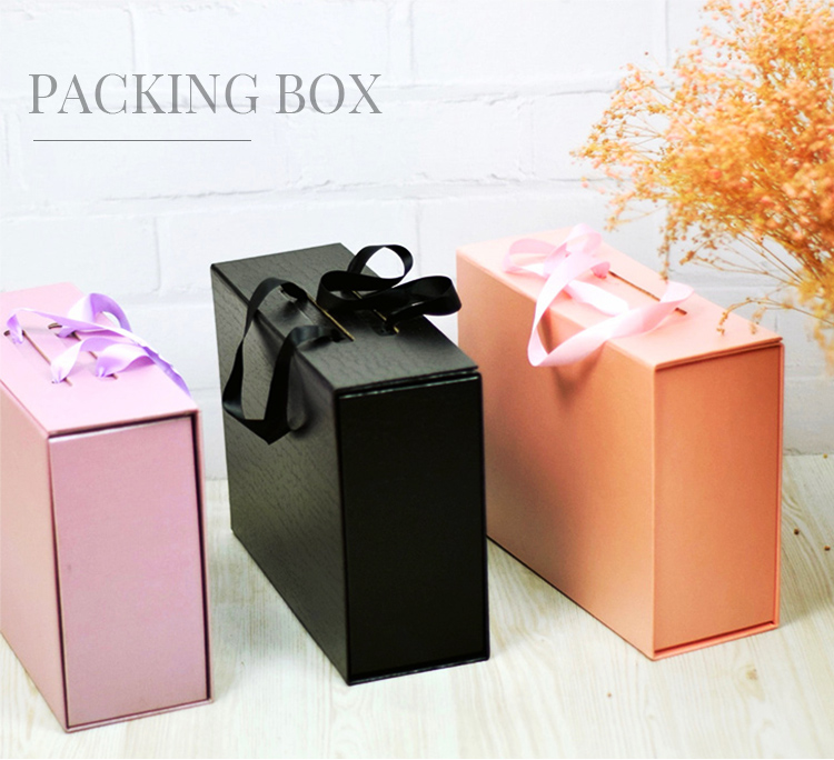 China Customized Foldable Magnetic Clothing Packaging Gift Masks Storage Box