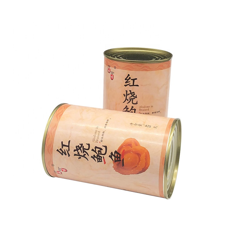 Golden yellow delicious healthy rich nutrition canned abalone oem canned abalone