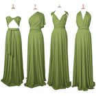 Long Dress High Quality Women Maxi Long Infinity Wrap Convertible Jersey Bridesmaid Dress
