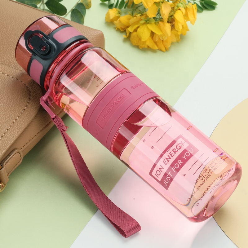 Water Bottle with Straw to Drink for Adults and Kids, Leak Proof & BPA Free, no smell