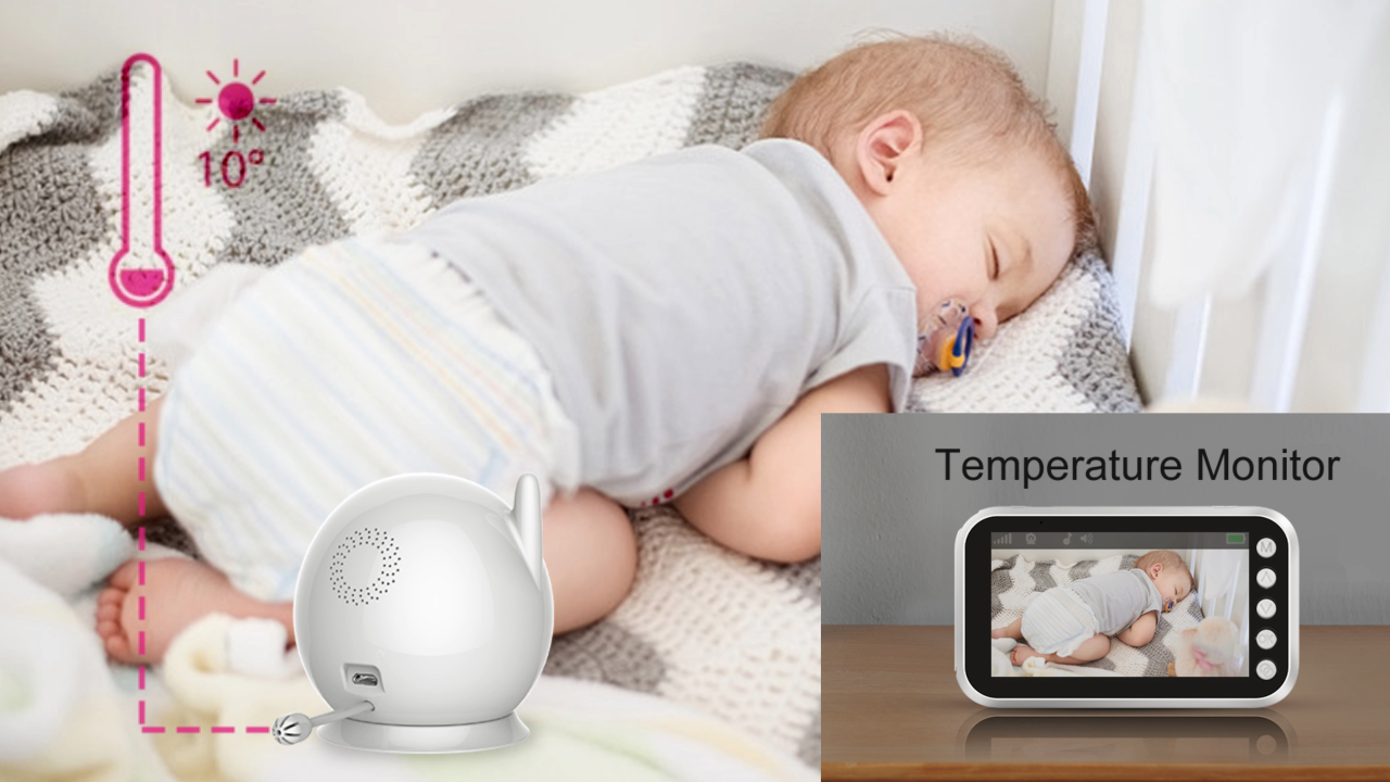 Factory Supply Baby Kamera 2.4g Wireless Baby Monitor IT-CUT Night Vision Babyphone with Camera for Child Crib