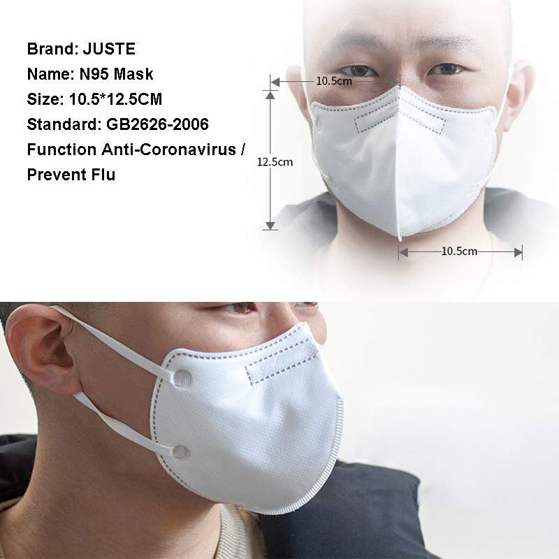Disposable medical surgical n95 face mask filter anti dust corona virus respirator 3ply facial mouth masks with 3 ply non woven 3.jpg