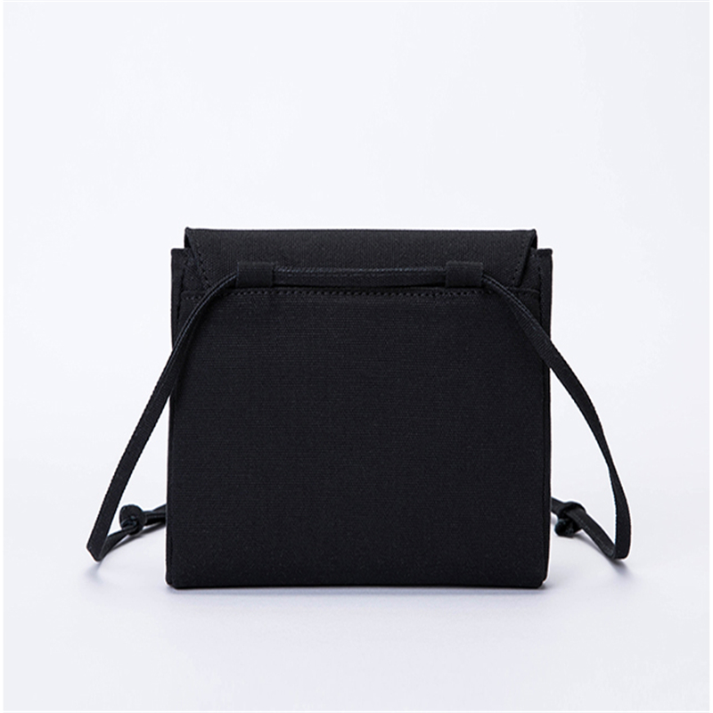 White Canvas Bag Shoulder Messenger Fairy Small Square Bag Temperament Wild Casual Bag
