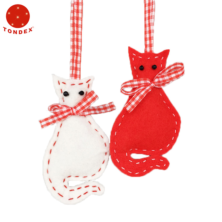 Christmas Tree Decoration Cute Handmade Felt Animals Ornament
