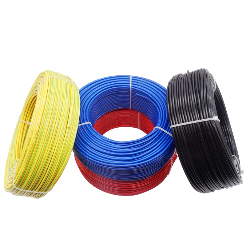 Hight quality BV solid copper electrical cable 1.5mm 2.5mm 4mm 6mm 10mm 16mm single core house wiring electrical cable