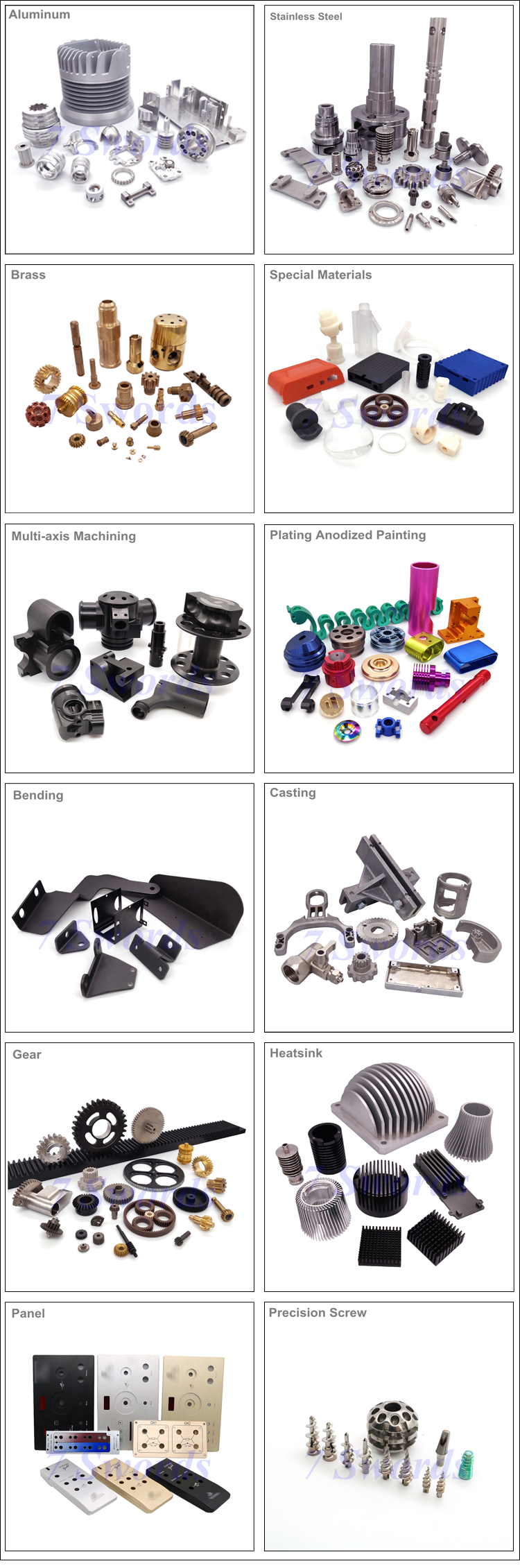 CNC Milling Turning Precision Custom Metal Parts Small Mechanical Parts Mechanical Parts Fabrication Service