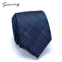 New style hot-sale custom latest mens official polyester paisley floral striped plaid tie and pocket square