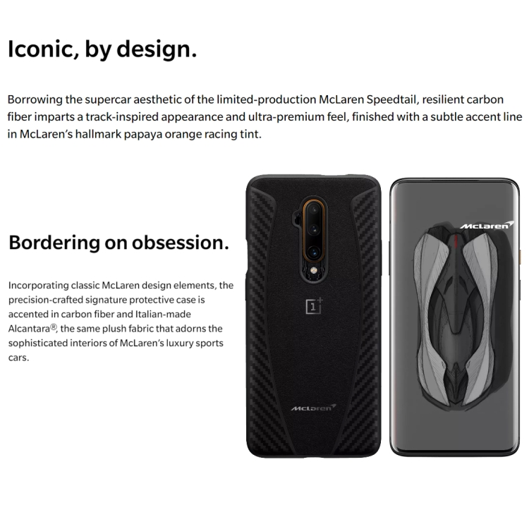 Popular Presale OnePlus 7T Pro McLaren Limited Edition, 48MP Camera, 12GB+256GB
