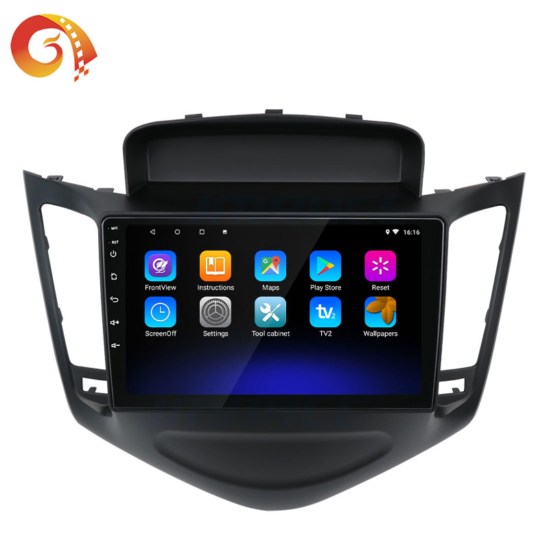2din 4G Vídeo Lcd Multimídia Sistema de Navegação Gps Android Tela de Toque de Rádio Carro Dvd Player Para Chevrolet Cruze