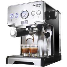 Полуавтоматическая кофеварка, 15 бар, итальянский кофе, капучино, молоко, пузырьки, кофеварка для эспрессо, американский стиль, для дома, 2020(Китай)