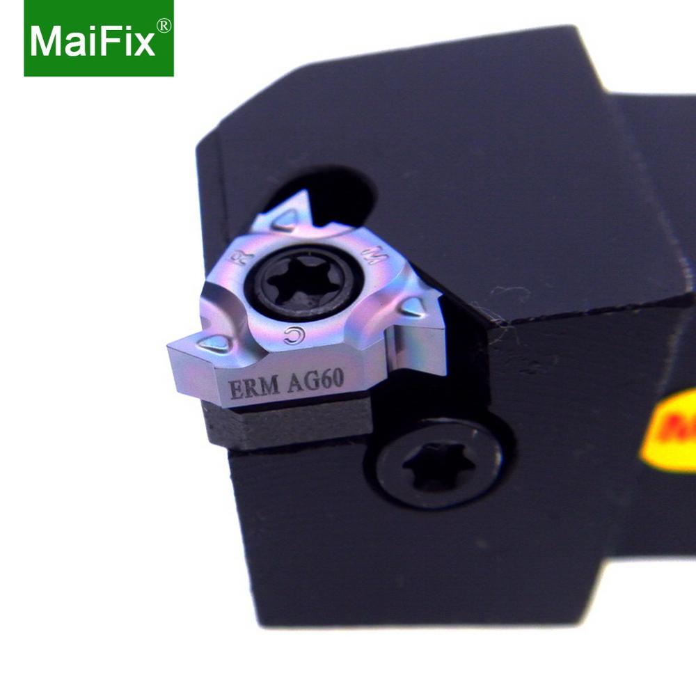 Maifix SER1212H16 Cutter SER Threaded Insert CNC Metal Lathe Cutting Tool External Turning Toolholders Threading Tool