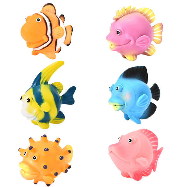 12pcs Tropischer Fisch Vorschul Kinder Spielzeug
