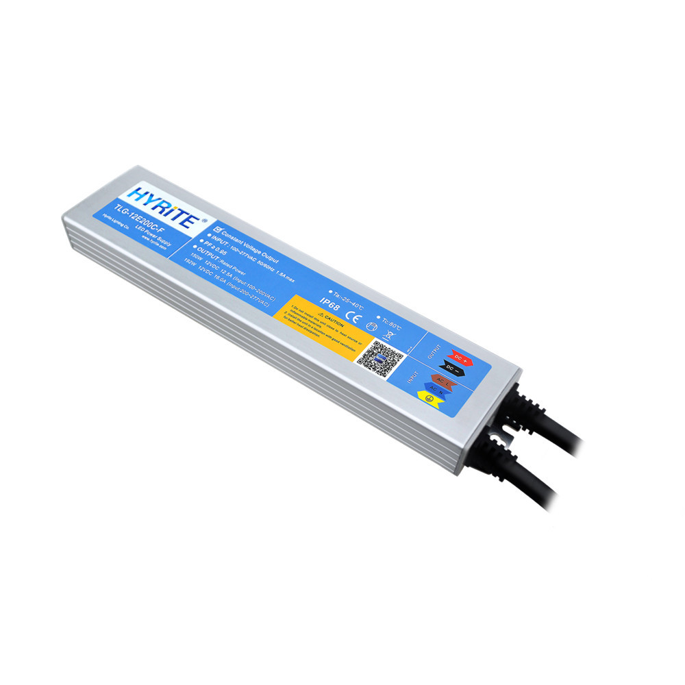 High quality ip67 ip68 outdoor 12v 24vdc ac dc 220-240v 150w 120w led transformer for led strip light