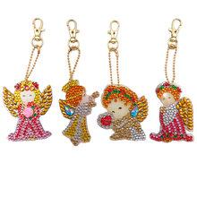 5D алмазная картина милое животное DIY брелок Алмазная сумка Подвеска ювелирные изделия Мозаика украшение для дома узор ручной работы новый г...(Китай)