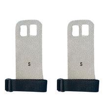 A1 Pair S M L рукоятка из синтетической кожи защита для гимнастики защита ладоней перчатки для поднятия тяги(China)