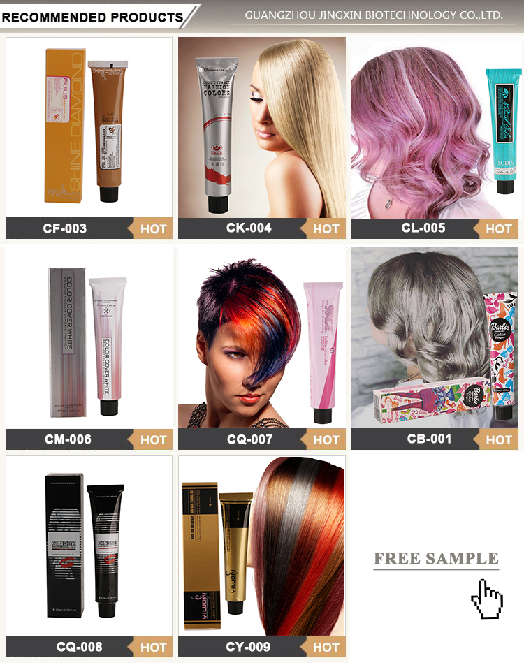 wholesale private label  henna color ammonia free ppd free best semi permanent shiny  blonde hair dye color product