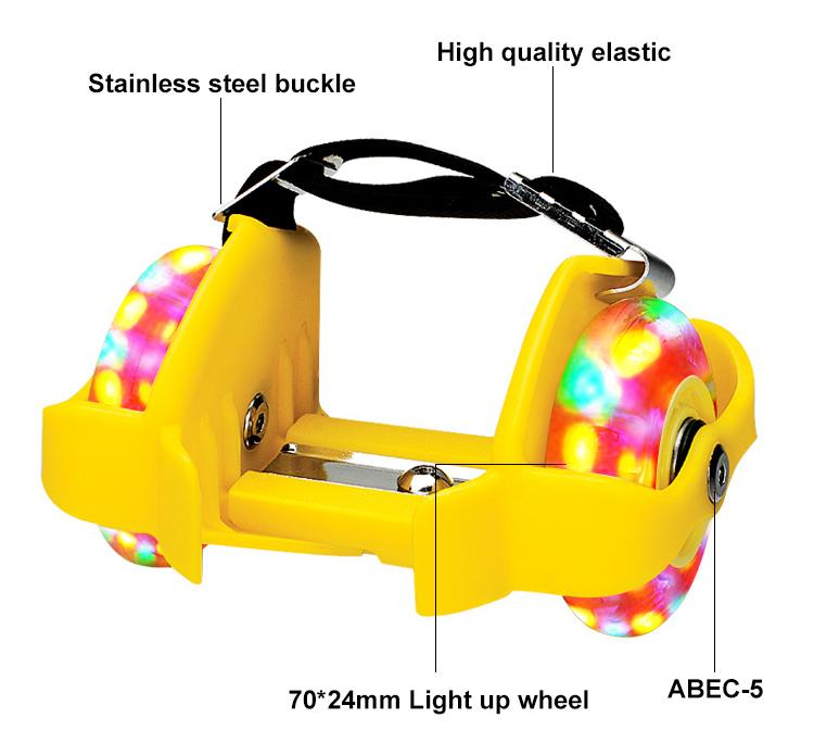 Hot Selling Sports Inline Roller Skates Outdoor Street Flashing RollerとAdjustable 2 Wheels