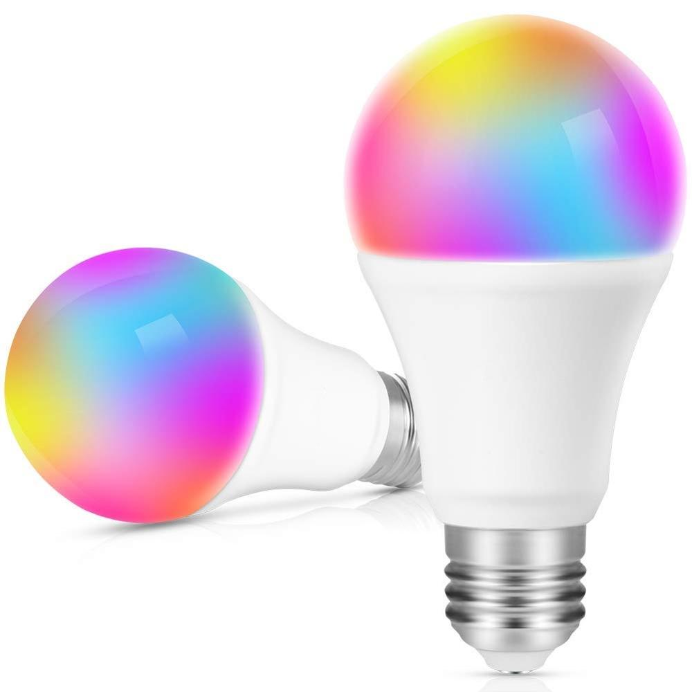 Google Home Amazon Echo IFTTT Supported CCT+RGBW Tuya Smart LED Light Bulb