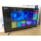 Big size 90 inch 4K UHD flat screen display DLED television with WIFI Android smart TV DVB T2 TV