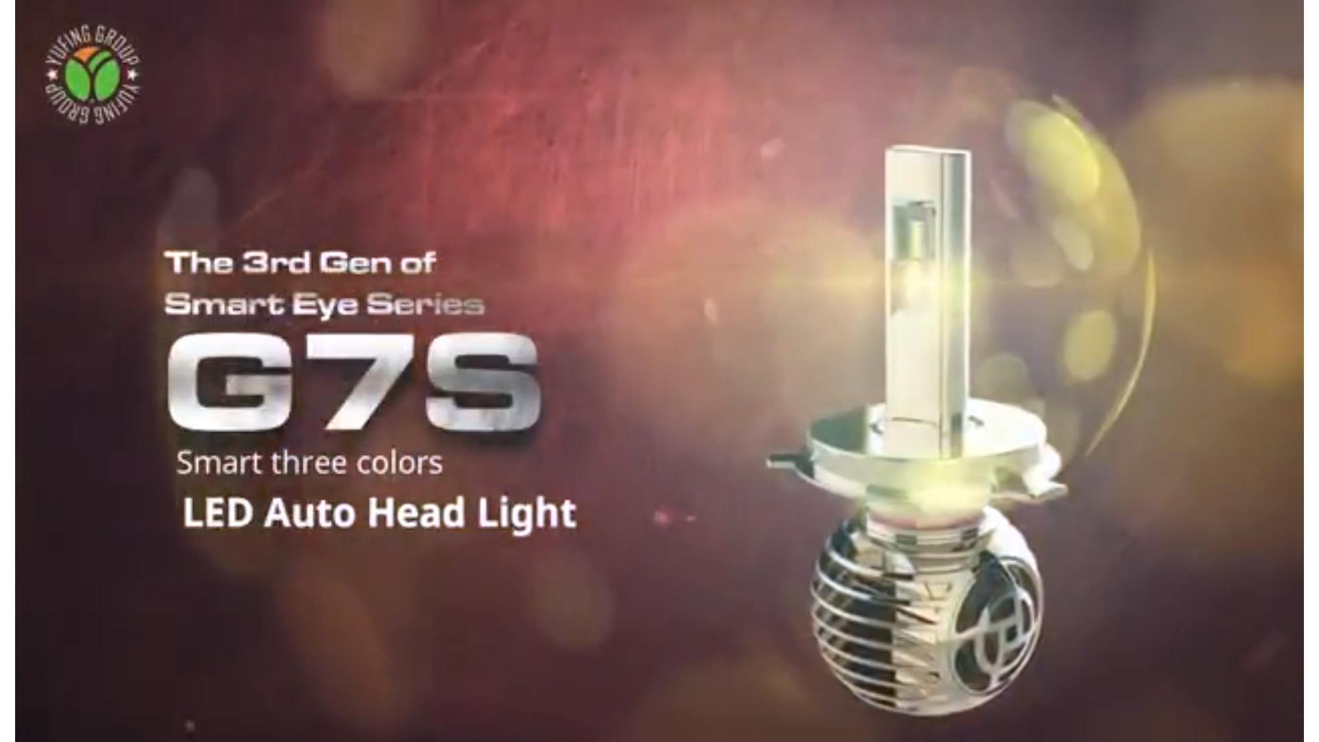 Oem 이중 색깔 변화 차 led 빛 led 헤드라이트 오토바이 헤드라이트 16000lm 높은 광도