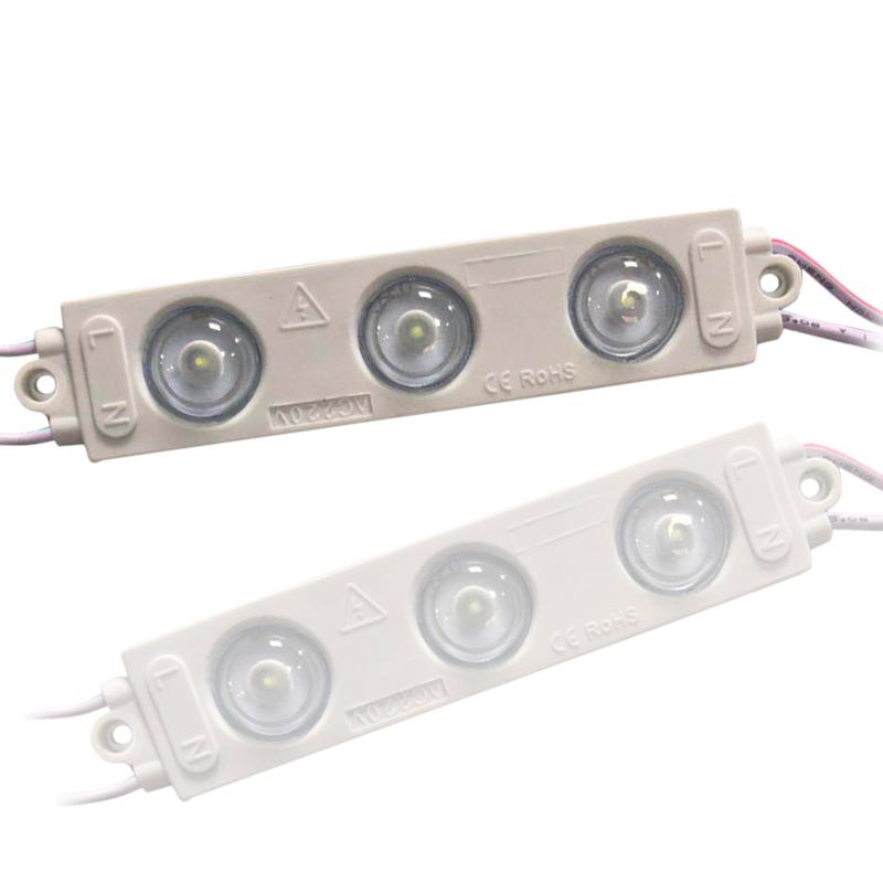 Super Brightness 200LM Single Color Higher Power Waterproof IP 68 Samsung 2835 110V 220V Led Module For Advertising Signage