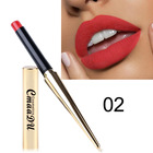 Cmaadu gold bullet tube 12color sexy matte waterproof lipstick with private label
