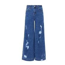 Hoge waisted vrouwen denim <span class=keywords><strong>jeans</strong></span> verontruste ripped <span class=keywords><strong>skinny</strong></span> been ripps rand zoom <span class=keywords><strong>dames</strong></span> <span class=keywords><strong>jeans</strong></span> <span class=keywords><strong>broek</strong></span>