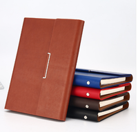 Custom Printing Note Book A5 Diary Customizable Leather Hardcover Journal