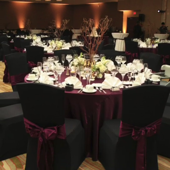 Alta Qualidade Preta Do Partido Banquete Jantar Cadeira De Casamento Cobre