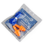 OPSMEN EARMOR M04 MaxDefense Silicone Ear Plugs with cable NRR28 Earplugs hearing protection for shooting driving mining workers