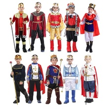 Halloween Party Fancy Dress Up Knight Carnaval Warrior Kids Kostuums Anime Cosplay Koning <span class=keywords><strong>Prins</strong></span> Jongens <span class=keywords><strong>Kostuum</strong></span>