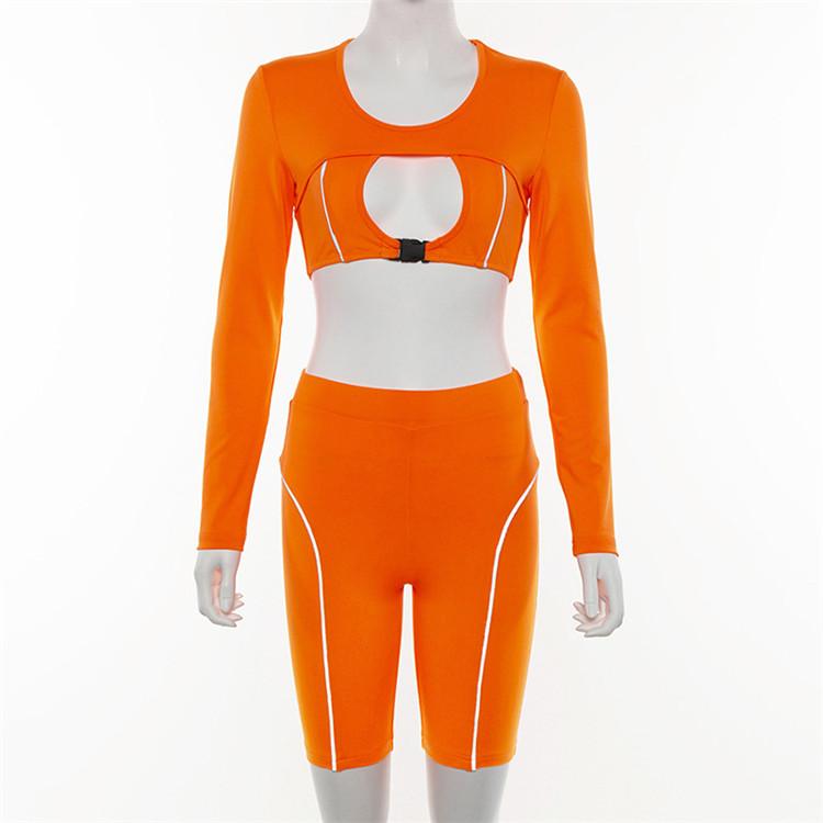 ホット販売ショートを設定します。着用女性のフィットネスの衣類レディース低価格