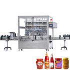 China Manufacturing Automatic Bottle Hot Sauce/Ketchup/Chili sauce Paste Filling Packing Machine Filling Line