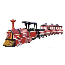Outdoor tragbare amusement modell zug track karneval reitet <span class=keywords><strong>kinder</strong></span> zug
