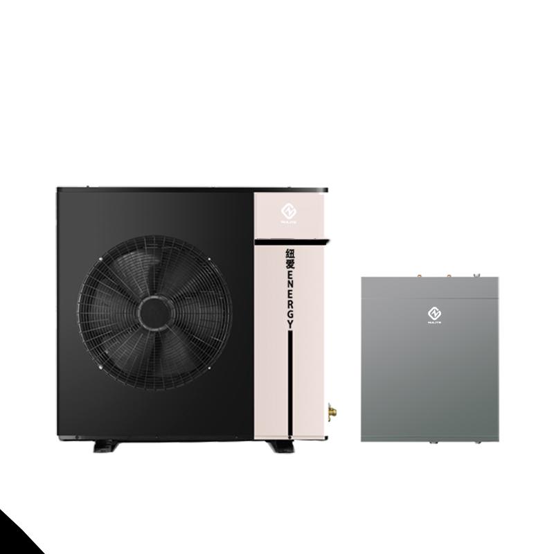 High efficiency 8kw 10kw 16kw 20kw warmtepomp air to water heatpump mini split air source inverter heat pump