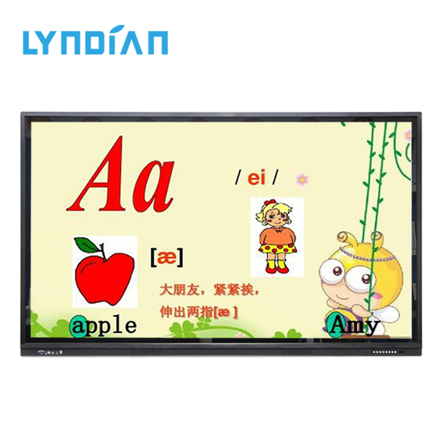 65 75 86 inch Electronic Ir Interactive Whiteboard,Smart Board,All In One Interactive Flat Panel for office/school/meeting