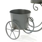 Plant Planter Pot Garden Plant Planter Home Decor Metal Iron Bike Flower Pot
