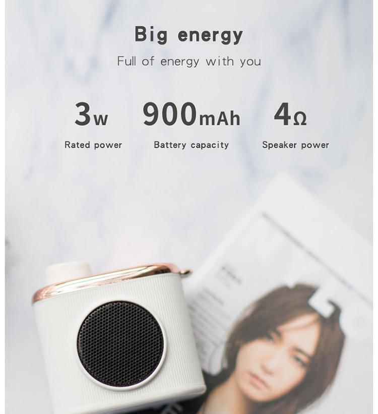 3D HiFi Wireless Bluetooth Speaker Bedroom Wireless Speaker